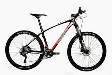 STRADALLI CARBON FIBER HARDTAIL MTB BIKE BICYCLE 27.5 650B RED MAGURA XT M 18""