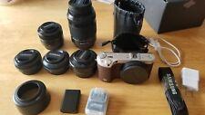 Samsung NX500 Digital camera 4k wifi + 5 lens 2 battery 2 lens pouch