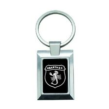 porte cles clef keyring metal luxe sport logo voiture moto Abarth mod-101