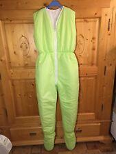 Winter Schlafsack mit Beinen Overall 146/152/ 158/164 NEU Vichy grün