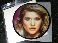 "Blondie V. RARE 12"" PICTURE DISC Debbie Harry THE CLASH Magnificent Seven (7) NM"