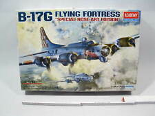 Academy 12414  B-17G  Flying Fortress Nose Art Ed.  1:72  sealed in Box mb7001
