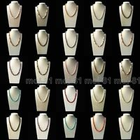 """Fashion Natural 8mm Multicolor Akoya Cultured Shell Pearl Necklace 18"""" AAA"""