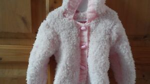 Hand knitted baby girl travel suit  newborn 0-3,3-6,6-9 months choice of colours