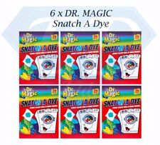 DR MAGIC SNATCH A DYE - 120 Sheets (6 x 20 Pack) Colour Catcher - FREE DELIVERY