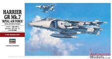 1/48 RAF Hawker Sidley Harrier GR.Mk.7 Limited Edition kit by Hasegawa