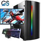 Fast Gaming Pc Computer Bundle Core I5 8gb 120gb Ssd Windows 10 Nvidia Gt710 2gb