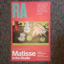 MATISSE - In the Studio (2017) ART EXHIBITION POSTER - ORIGINAL RARE