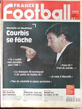 France Foot N°2709 bis (13/3/1998) Courbis - Bordeaux - FIFA : Johansson