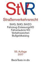 Straßenverkehrsrecht (StVR) (Taschenbuch)