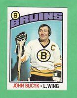 1976-77 OPC O PEE CHEE  # 95  John Bucyk   nrmnt-mt