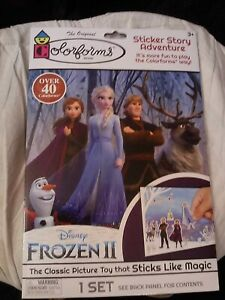 COLORFORMS~FROZEN II~STICKER STORY ADVENTURE SET~0VER 40 FORMS~2019 NEW/PAC