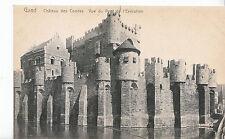 Belgium Postcard - Gand - Chateau Des Comtes Vue Du Pont Ide I'Execution  ZZ3008