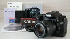 Canon EOS 40D & Canon EF-S 18-55mm F/3.5-5.6Mk III (boxed) – very good condition