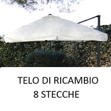 TOP TELO RICAMBIO OMBRELLONE DECENTRATO ALLUMINIO 3x3 MT CON AIRVENT 210gr