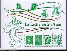 Bloc / feuillet F4908 - La Lettre Verte a 3 ans de 2014  NEUF **  LUXE