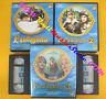 Box 6 VHS Fantaghiro' Series 1/2/3 Alessandra Martines Nielsen No Nuggets DVD