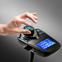 1* Car Wireless Bluetooth MP3 Player FM Transmitter Handsfree USB LCD Modulator