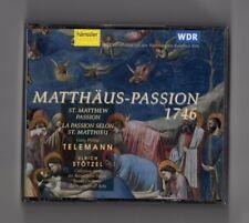 Georg Philipp Telemann - Matthäus-Passion 1746 (2 CD)