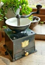 More details for coffee grinder no 3 j & j siddons cast iron &  brass coffee mill