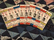 NBA 4x VTG 1981-82 PORTLAND Trail Blazers-LOT of FULL Tickets MIX of Players-BID