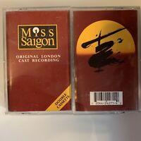 Miss Saigon Original London Cast Recording (Cassette)
