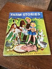 Farm Stories First Edition A Giant Golden Book By K & B Jackson Simon & Schuster