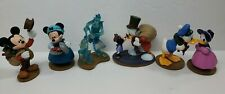 Mickey Mouse Christmas Carol figures Disney PVC Cake Topper set Minnie lot of 6