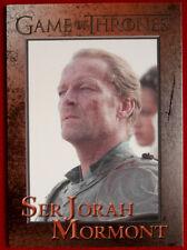 GAME OF THRONES - SER JORAH MORMONT - Season 3, Card #63 - Rittenhouse 2014