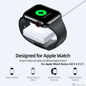 For Apple Watch iWatch Series 6 5 4 3 2 Magnetic Charging Dock USB Cable Charger