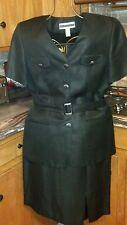 Amanda Smith Black Skirt Suit ~ SIze 12