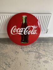 More details for vintage coca cola coke button illuminated sign