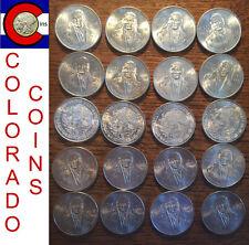 1978 Mexico Cien (100) Peso Silver Coin Roll/Tube - 20 Mexican Coins