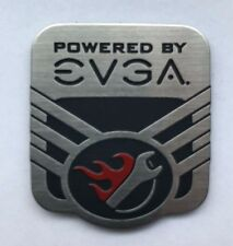 """EVGA Wrench Case Badge: """"Powered by EVGA"""" Sticker"""