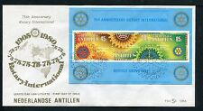 Nederlandse Antillen FDC E129A _ 2 M, code -, blanco ;