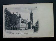 Cawnpore Memorial Church, Uttar Prudesh, India - Asian Vintage RP Postcard 1900s