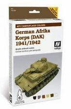Vallejo Paints & Accessories VLJ-78409 German Afrika Korps Painting System
