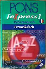 PONS Express Wörterbuch Französisch Stichwörter Redewendungen Grammatik Sprache