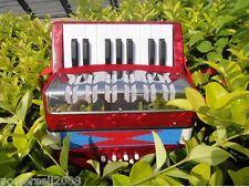 Professional Standard Tone 17 Key 8 Bass Children Musical Instruments Accordion