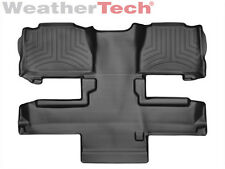 WeatherTech FloorLiner - Chevrolet Tahoe - 2011-2014 - 2nd Row - Black