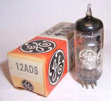 NEW IN BOX G.E. 12AD6 AUTO / CAR RADIO CONVERTER TUBE / VALVE