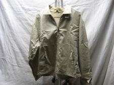 Vintage Duncannon 42 Daek Ivory Zip Down Button Jacket