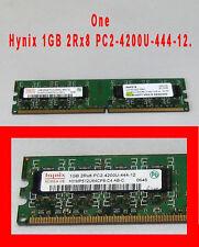 Hynix 1GB 2Rx8 PC2-4200U-444-12 Memory stick Tested