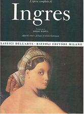 L'OPERA COMPLETA DI INGRES RIZZOLI 1968 I° EDIZ. CLASSICI DELL'ARTE 19