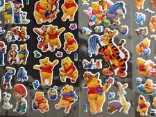 WINNIE THE POOH Stickers 12 Sheets 6 Different 2 Of Each - PARTY BAG GIFT