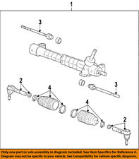 GM OEM Steering Gear-Outer Tie Rod End 15944090