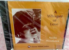 New Sealed AYAKO HOSOKAWA A WHISPER OF LOVE Three Blind Mice TBM Sealed CD
