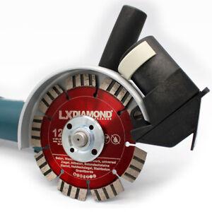 LXDIAMOND Staubabsaugung für 125 230 350mm Winkelschleifer Staubschutz Absaugung