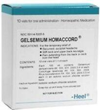 Gelsemium Homaccord 10 ampules