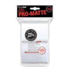 ULTRA PRO - Non-Glare - Pro Matte Standard Deck Protector - White 100ct NEW